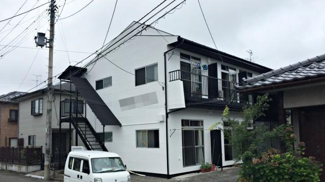 アパート塗装工事後