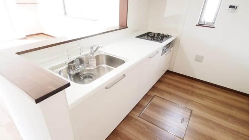 部屋が狭くなる対面キッチン